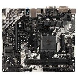 华擎(ASRock)A320M-HDV R4.0主板(AMD A320/AM4 Socket)
